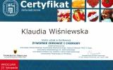 Certfikat ywienie Zdrowie i Choroby_Klaudia Winiewska