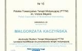 Certyfikat Terapeuty Motywujcego_Magorzata Jolanta Kaczyska