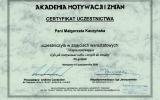 Certyfikat Terapia motywujca_Magorzata Jolanta Kaczyska