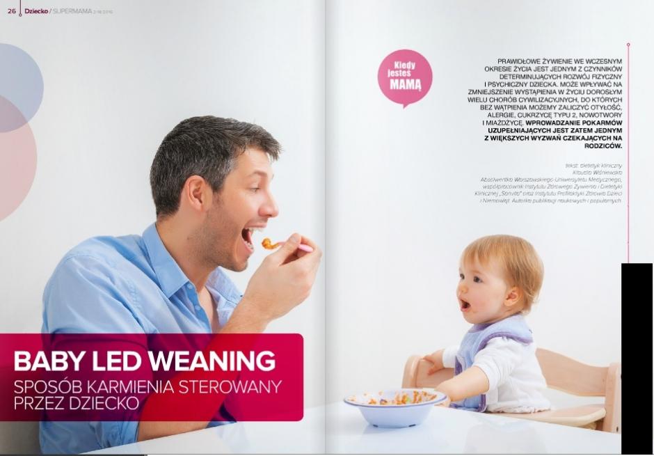 BABY LED WEANING – sposób karmienia sterowany przez dziecko