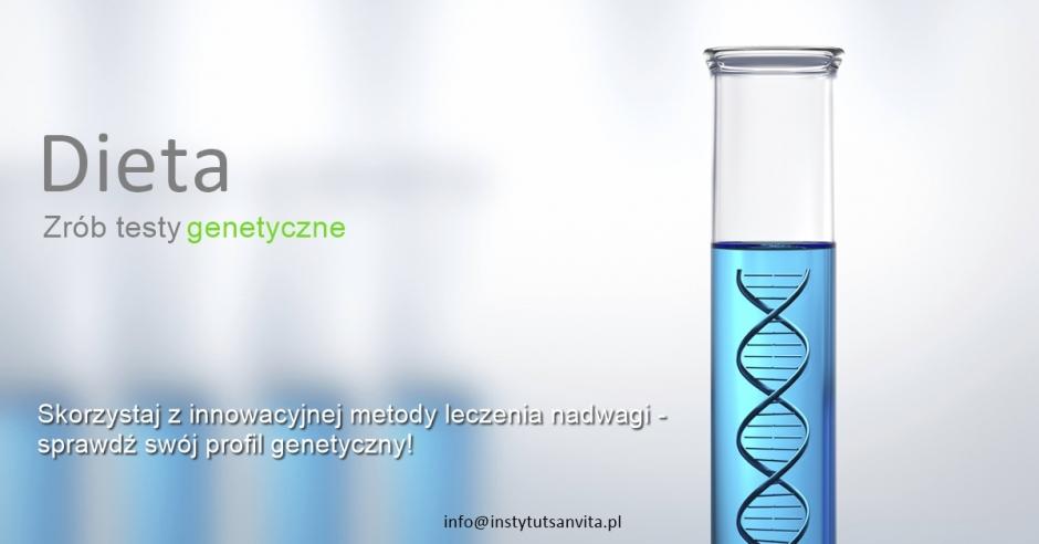 Promocja miesiąca - testy genetyczne!