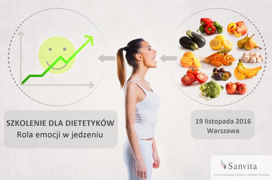 Szkolenie: Rola emocji w jedzeniu.